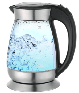 image of transparent electric flask