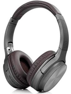 screenshot of black colored headphones of Drums brand