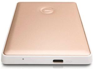 screenshot of ext hard disk in pink color