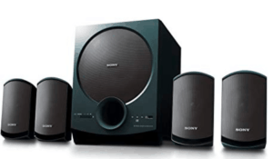 image of sony 4.1 speaker systems
