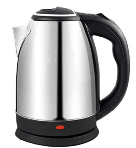 sideview of ankaret electric kettle