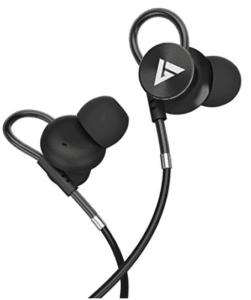 image of black hi bass ear phones