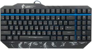 image showing black gaming keyboard