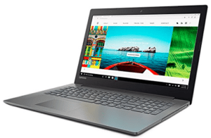image of ideapad in onyx black color