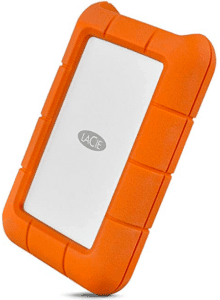 Eimage showing external drive of 2TB capacity