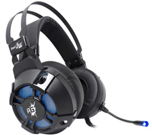 screenshot of redgear gaming headset