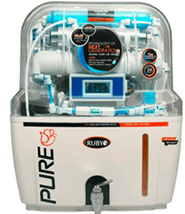 image of alkaline purifier from Ruby brand
