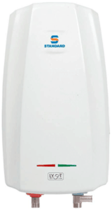 image of water heater in white body