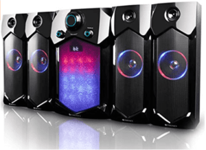 image of 4.1 speakers with shadow