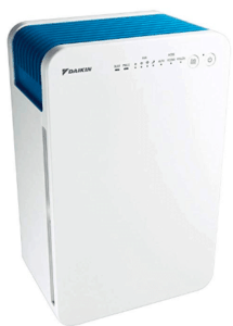 image of air purifier in White body