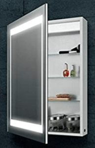 image of mirror with rack