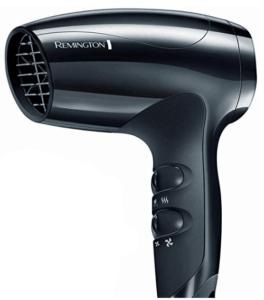 image of black hair dryer