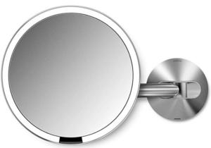 image of round mirror with sensor