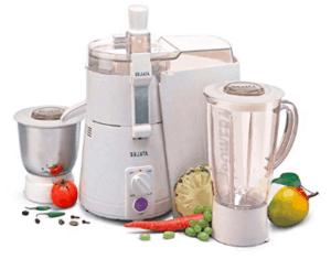 complete juicer mixer grinder set from Sujata