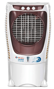image of air cooler from Indian brand in brown color