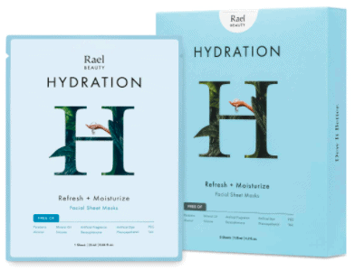 image of hydrating facemask