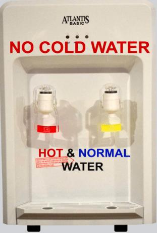 ATLANTIS Table Top Water Dispenser- 2 Liter