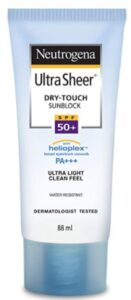 image of best sunscreen lotion by India by Neutrogena brand