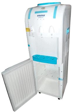 Voltas Mini Magic Pure-R with small refrigerator cabinet